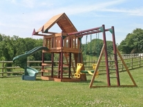 Child play equipment Holiday cottage Bideford